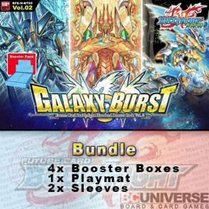 H-BT02: Galaxy Burst (English) Future Card Buddyfight Hundred Booster Box Bundle