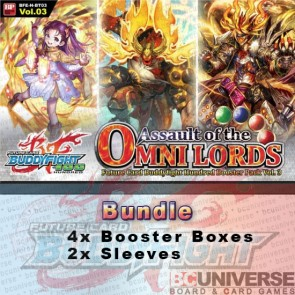 H-BT03: Assault of the Omni Lords (English) Future Card Buddyfight Hundred Booster Box Bundle