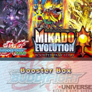 H-BT04: Mikado Evolution (English) Future Card Buddyfight Hundred Booster Box