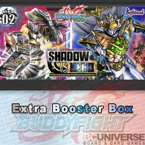 H-EB02: Shadow Vs Hero Future Card Buddyfight Hundred Extra Booster Box