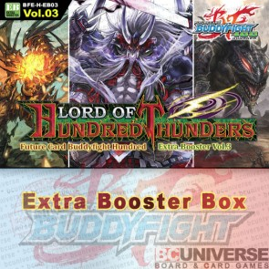 H-EB03: Lord of Hundred Thunders Future Card Buddyfight Hundred Extra Booster Box
