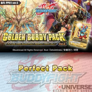PP01: Golden Buddy Pack ver.E - Future Card Buddyfight Perfect Pack Box