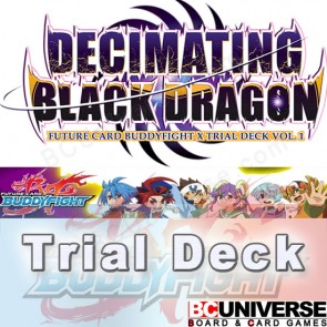 X-TD01: Decimating Black Dragon - Future Card Buddyfight X Start Deck