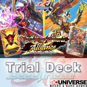 X-TD03: Thunderous Warlords Alliance - Future Card Buddyfight X Start Deck
