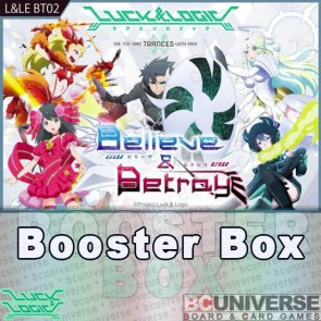 BT02 Believe & Betray Luck and Logic Booster Box