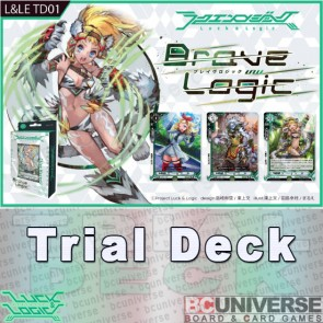 TD01 Brave Logic Luck and Logic Trial Deck
