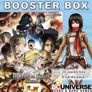 Attack on Titan Vol 2 Weiss Schwarz Booster Box