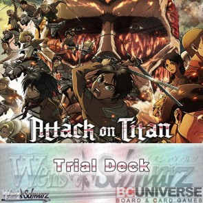 Attack on Titan (English) Weiss Schwarz Trial Deck