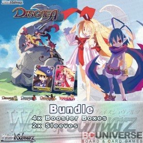 Disgaea (English) Weiss Schwarz Booster Box Bundle