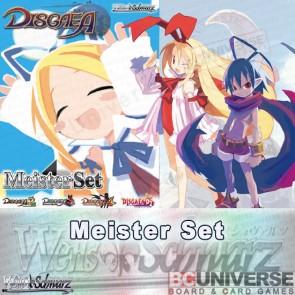 Disgaea (English) Weiss Schwarz Meister Set
