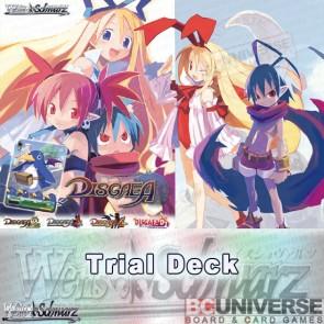 Disgaea (English) Weiss Schwarz Trial Deck