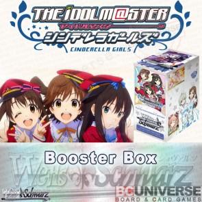 The Idolm@ster Cinderella Girls (English) Weiss Schwarz Booster Box