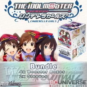 The Idolm@ster Cinderella Girls (English) Weiss Schwarz Booster Box  Bundle