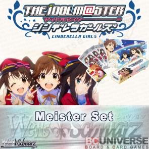 The Idolm@ster Cinderella Girls (English) Weiss Schwarz Meister Set
