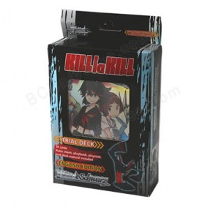 Kill La Kill (English) Weiss Schwarz Trial Deck