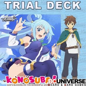 Konosuba Weiss Schwarz Trial+ Deck