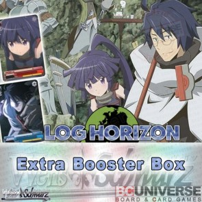 Log Horizon (English) Weiss Schwarz Extra Booster 6Pack BOX