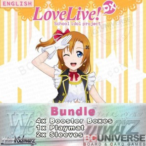 Love Live! DX (English) Weiss Schwarz Booster Box Bundle