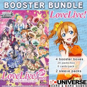 Love Live DX Volume 2 (English) Weiss Schwarz Booster Box Bundle