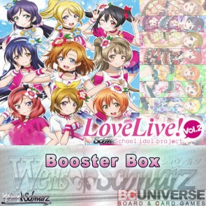 Love Live! Vol. 2 (English) Weiss Schwarz Booster Box