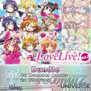 Love Live! Vol. 2 (English) Weiss Schwarz Booster Box Bundle