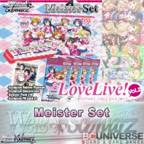 Love Live! Vol. 2 (English) Weiss Schwarz Meister Set