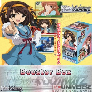 The Melancholy of Haruhi Suzumiya (English) Weiss Schwarz Booster Box