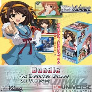 The Melancholy of Haruhi Suzumiya (English) Weiss Schwarz Booster Box Bundle
