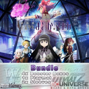 MADOKA MAGICA THE MOVIE -Rebellion- (English) Weiss Schwarz Booster Box Bundle