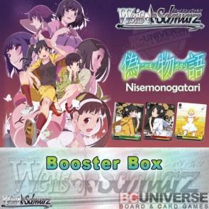 NISEMONOGATARI (English) Weiss Schwarz Booster Box