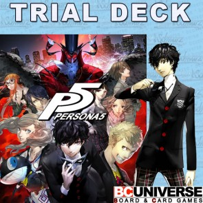 Persona 5 Weiss Schwarz Trial Deck