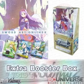Sword Art Online Ⅱ Vol.2 Weiss Schwarz Extra Booster 6Pack BOX