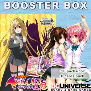 To Loveru Darkness 2nd Weiss Schwarz Booster Box
