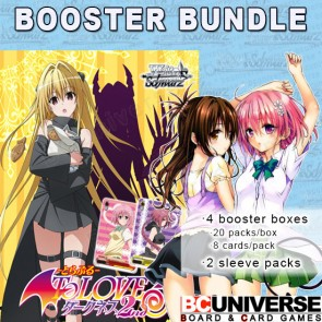 To Loveru Darkness 2nd Weiss Schwarz Booster Box Bundle
