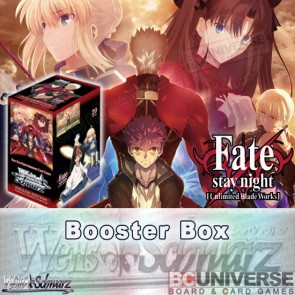 Fate/stay night [Unlimited Blade Works] VOL 2 (English) Weiss Schwarz Booster Box