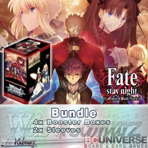 Fate/stay night [Unlimited Blade Works] VOL 2  (English) Weiss Schwarz Booster Box Bundle