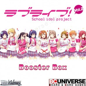 Love Live! Vol.2 (Japanese) Weiss Schwarz Booster Box