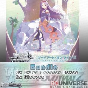 Sword Art Online II Vol 2 (Japanese) Weiss Schwarz Extra Booster Bundle