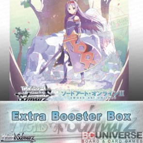 Sword Art Online II Vol 2 (Japanese) Weiss Schwarz Extra Booster 6Pack BOX