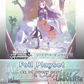 Sword Art Online II Vol 2 (English) Weiss Schwarz Extra Booster Foil Playset