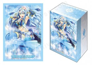 "Bushiroad Sleeve & Deck Holder Collection Vol.4 Cardfight!! Vanguard G ""Frontier Star, Coral"""