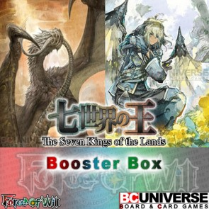 A1 The Seven Kings of the Lands (English) Force of Will Booster Box