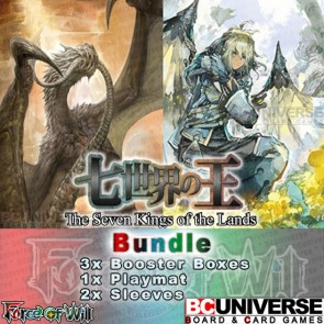 A1 The Seven Kings of the Lands Force of Will Booster Box Bundle