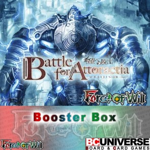A4 Battle for Attoractia Force of Will Booster Box