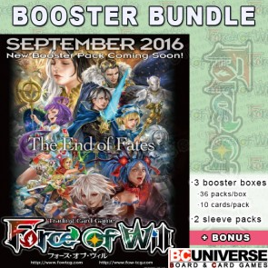 L1 Curse of the Frozen Casket Force of Will Booster Box Bundle
