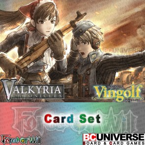 Vingolf 2 - Valkyria Chronicles (English) Force of Will Set