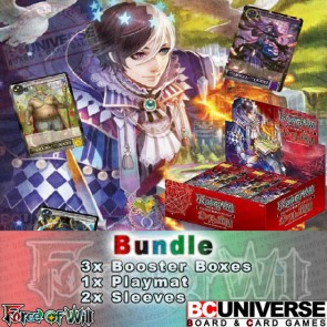 G1 Crimson Moon's Fairy Tale (English) Force of Will Booster Box Bundle