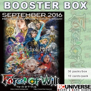 L1 Curse of the Frozen Casket Force of Will Booster Box