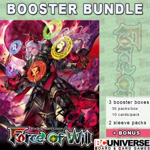 Advent of the Demon King Reiya Force of Will Booster Box Bundle