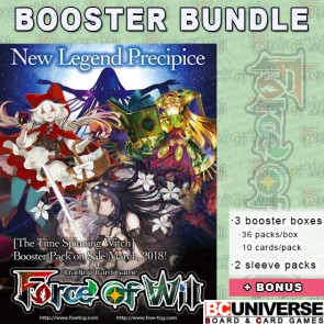 The Time Spinning Witch Reiya Force of Will Booster Box Bundle